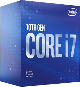 Intel Core i7-10700F, 8C/16T, 2.90-4.80GHz, boxed (BX8070110700F)