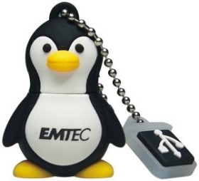Emtec M314 The Aquarium Range Penguin 4GB, USB-A 2.0 (EKMMD4GM314)