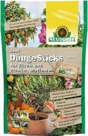 Neudorff Azet Dünge-Sticks für Zitrus- und Mediterranpflanzen, 40 Stück (00276)