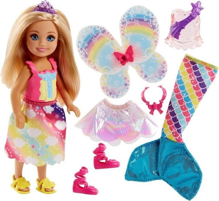 Mattel Barbie Dreamtopia 3in1 Fantasie Chelsea (FJD00)