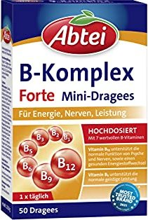 Abtei Vitamin B Komplex Forte Dragees, 50 Stück -- © ApoMedifot.de