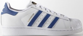 adidas Superstar ftwr white/eqt blue (Junior) (S74944)