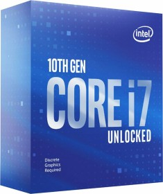 Intel Core i7-10700KF, 8C/16T, 3.80-5.10GHz, boxed ohne Kühler (BX8070110700KF)