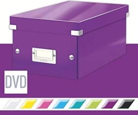 Leitz Click & Store WOW DVD Aufbewahrungsbox, violett (60420062)