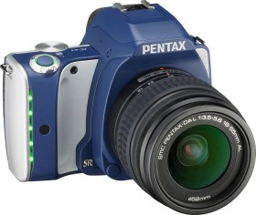 Pentax K-S1 blau/silber mit Objektiv DA L 18-55mm (06569)