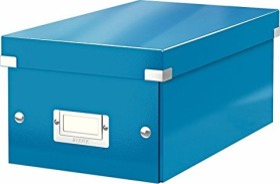 Leitz Click & Store WOW DVD Aufbewahrungsbox, blau (60420036)