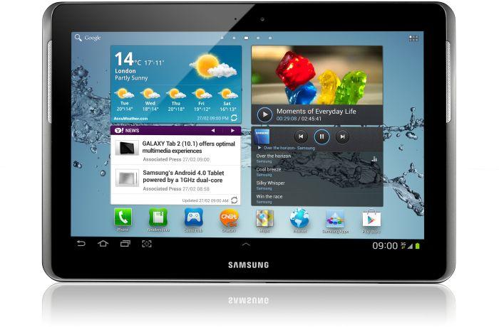 Samsung Galaxy Tab 2 10.1 P5100 16GB silber (GT-P5100TSA)