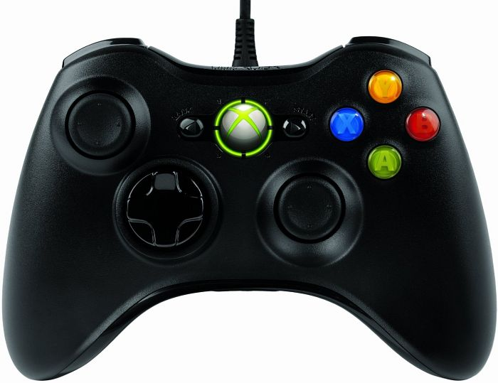 Microsoft Xbox 360 X360 controller for Windows, USB (PC/Xbox 360) (52A-00005)