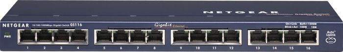 Netgear ProSAFE GS116, 16-Port