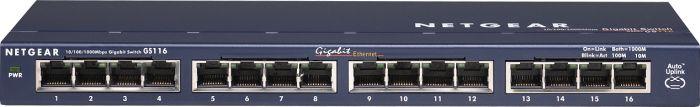 Netgear ProSAFE GS116, 16-port