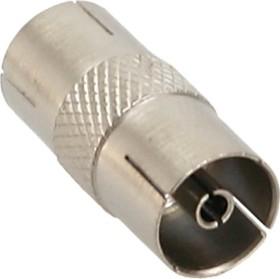 InLine antenna coaxial connector plug / socket, metal (69915L)