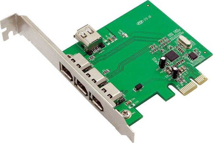 LogiLink 4x FireWire, PCIe x1 (PC0030)