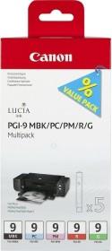 Canon Tinte PGI-9MBK/PC/PM/R/G Multipack (1033B011 / 1033B013)