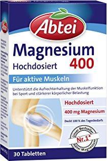 Abtei Magnesium 400 Tabletten, 30 Stück -- © ApoMedifot.de