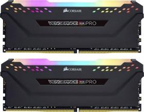 Corsair Vengeance RGB PRO schwarz DIMM Kit 32GB, DDR4-3466, CL16-18-18-36 (CMW32GX4M2C3466C16)