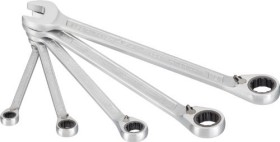 Hazet 606/5 mouth-ratchet wrench, 5-piece.
