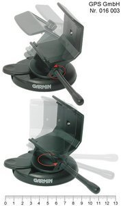 Garmin GPS II/III car holder