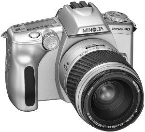 Konica Minolta Dynax 40 QD (SLR) case