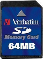 Verbatim SD Card   64MB (47117)