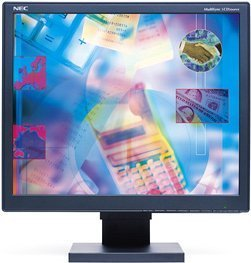 "NEC MultiSync LCD2060NX-BK black, 20.1"", 1600x1200, analog/digital (60001221)"