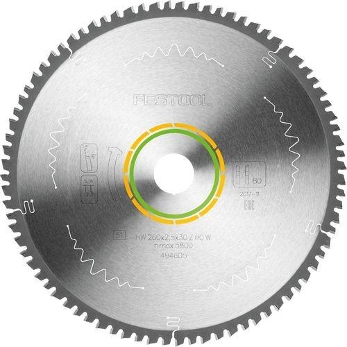 Festool W80 circular saw blade, 1-pack (494605)
