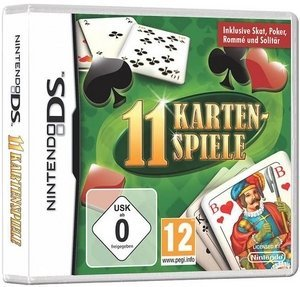 11 Card Games (German) (DS)