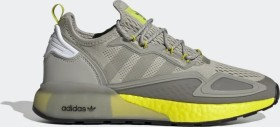 adidas ZX 2K Boost metal grey/cloud white/acid buzz (men) (FY2002)