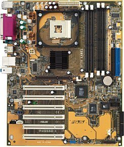 ASUS P4S533-X, SiS645DX [SDR/DDR]