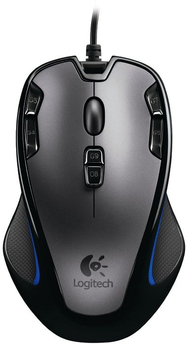 Logitech G300 Optical Gaming Mouse, USB (910-002359)