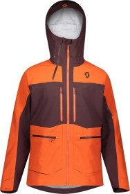 Scott Vertic GTX 3L Stretch Jacke red fudge/orange pumpkin (Herren) (272539-6637)
