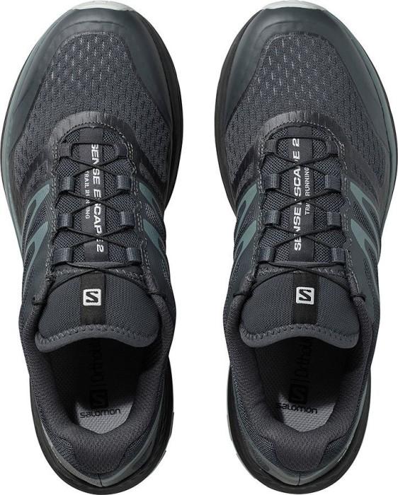 Salomon Herren Sense Escape 2 grau Gr/ö/ße 42 Trailrunning-Schuhe Ebony//Stormy Weather//Pearl Blue