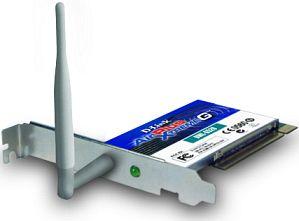 D-Link AirPlusXtremeG DWL-G520, PCI