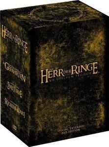 Der Herr der Ringe Box (Filme 1-3)