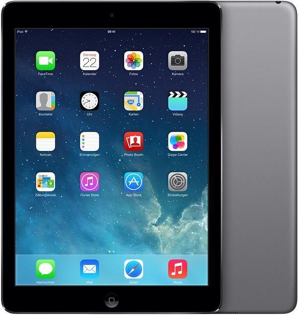 Apple iPad Air 64GB grau (MD787FD/A)