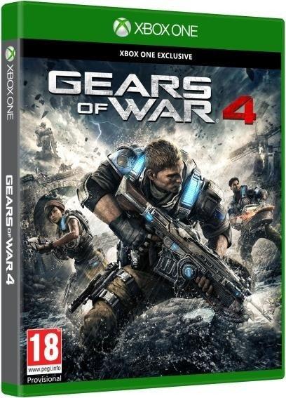 Libro Gears of War 4 Xbox