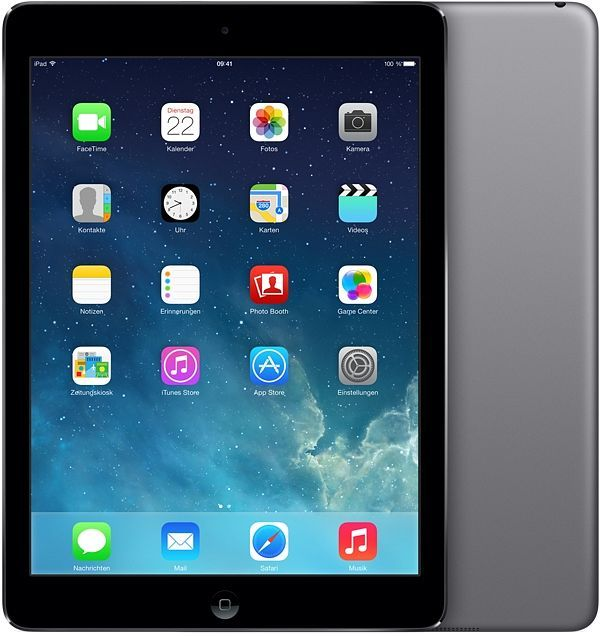 Apple iPad Air 128GB grau (ME898FD/A)