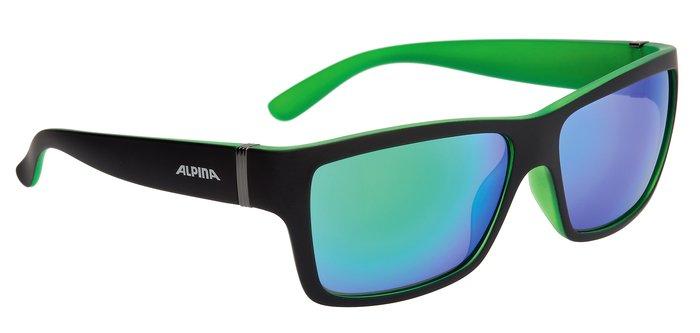 Sonnenbrille Alpina Kacey schwarz matt/blau Glas blau versp. S3 3RkCs