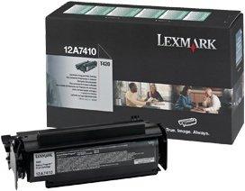 Lexmark 12A7410 toner zwrotny czarny