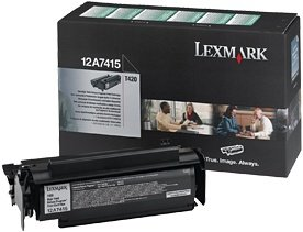Lexmark Return Toner 12A7415 black high capacity