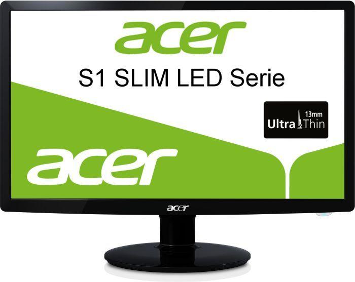 """Acer S1 Slim LED S221HQLbd, 21.5"""" (ET.WS1HE.008)"""