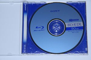 Sony BD-R DL 50GB 2x, 1er Jewelcase (BNR50A)