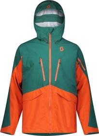 Scott Vertic DRX 3L Skijacke jasper green/orange pumpkin (Herren) (272487-6640)