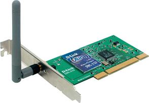 D-Link DWL-510 Air, 11Mbps, PCI