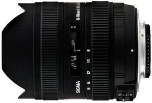 Sigma AF 8-16mm 4.5-5.6 DC HSM for Pentax K black (203961)