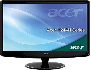 "Acer High definition H244HAbmid, 24"" (ET.FH4U.A04)"