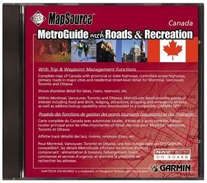Garmin MetroGuide und Roads & Recreation Canada