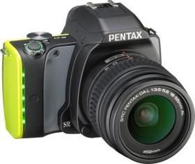 Pentax K-S1 schwarz/gelb mit Objektiv DA L 18-55mm (06574)