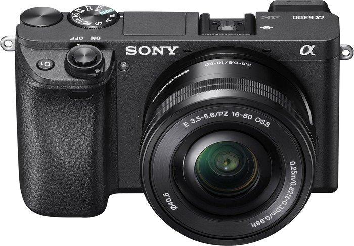 Sony Alpha 6300 schwarz mit Objektiv AF E 16-50mm 3.5-5.6 OSS PZ (ILCE-6300LB)