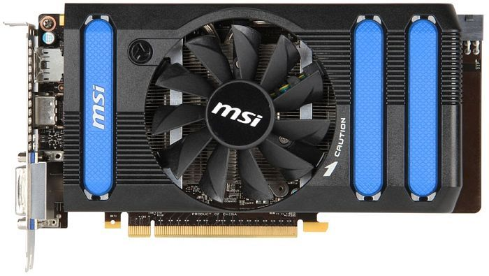 MSI N660-2GD5/OC, GeForce GTX 660, 2GB GDDR5, 2x DVI, HDMI, DisplayPort (V287-015R)
