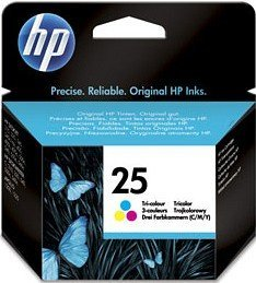 HP 25 Printhead with ink coloured (51625AE)